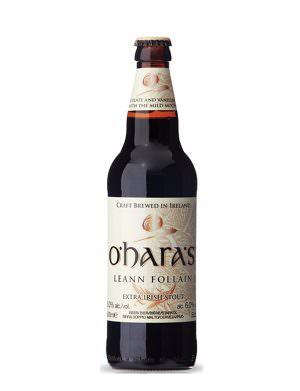 O'Hara's Leann Folláin Stout 50cl Bottle