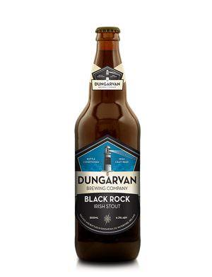 Dungarvan Black Rock Stout 50cl Bottle