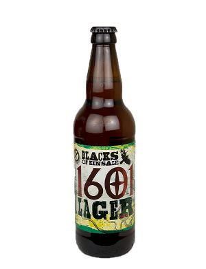 Black's of Kinsale 1601 Gluten Free Lager 50cl Bottle