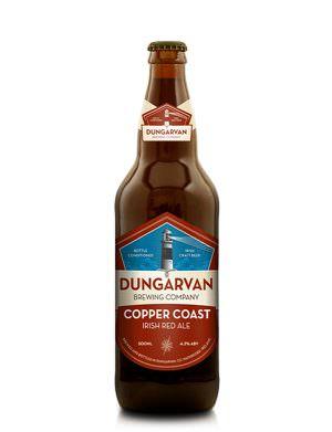 Dungarvan Copper Coast Red Ale 50cl Bottle
