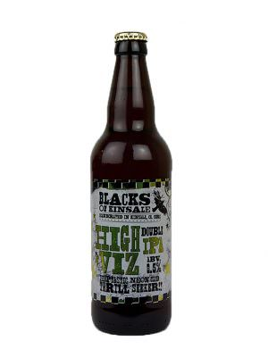 Black's of Kinsale High Viz Double IPA 50cl Bottle