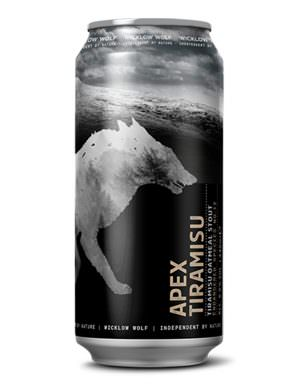 Wicklow Wolf - APEX - Tiramisu Oatmeal Stout 8% 44cl Can