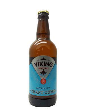 Viking Irish Cider, Medium Dry 50cl Bottle