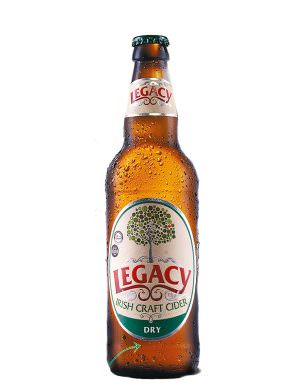 Legacy Dry Irish Cider 50cl Bottle