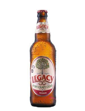 Legacy Medium Irish Cider 50cl Bottle