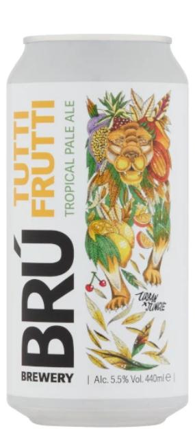 BRÚ Brewery - Tutti Frutti - Tropical PA