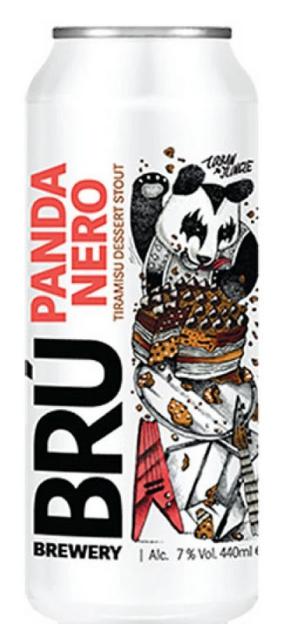 BRÚ Brewery - Panda Nero - Tiramisu Dessert Stout