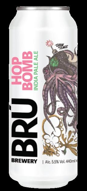 BRÚ Brewery - Hop Bomb IPA