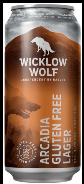 Wicklow Wolf - Arcadia - *GLUTEN FREE* Lager