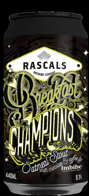 Rascals - Breakfast of Champions - Oatmeal Stout 6.1% 440ml