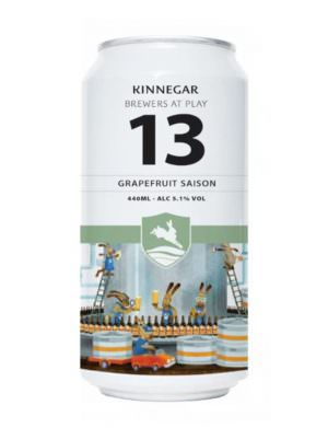 Kinnegar Brewers At Play no. 13 Grapefruit Saison 44cl Can