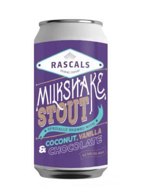 Rascals Milkshake Stout 44cl Can