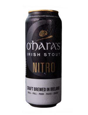O'Hara's Nitro Stout 44cl Can