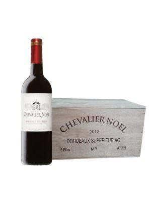 Chevalier Noel Wooden Case 6x75cl