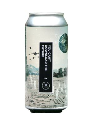 Wylam You Can't Download The Future IPA 44cl Can