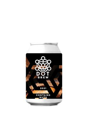 DOT Brew Contains Nuts 2021, 33cl Can