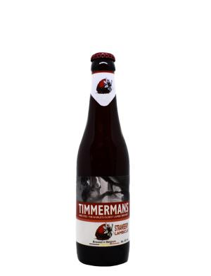 Timmermans Strawberry Belgian Lambic Fruit Beer 33cl Bottle