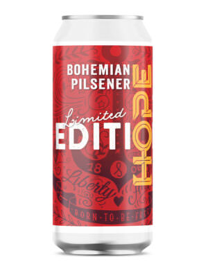 HOPE Limited Edition 24: Bohemian Pilsner 44cl Can