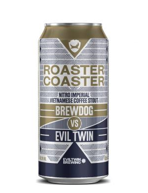 BrewDog x Evil Twin Roaster Coaster Nitro Imperial  Stout 44cl Can