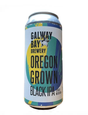 Galway Bay Oregon Grown Black IPA 44cl Can