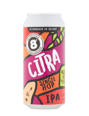 8 Degrees Citra Single Hop IPA 44cl Can