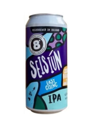 8 Degrees Seisiun Session IPA 44cl Can