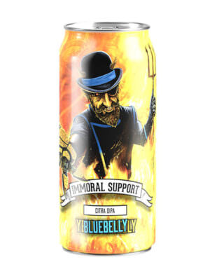 Yellowbelly Immoral Support DIPA 44cl Can