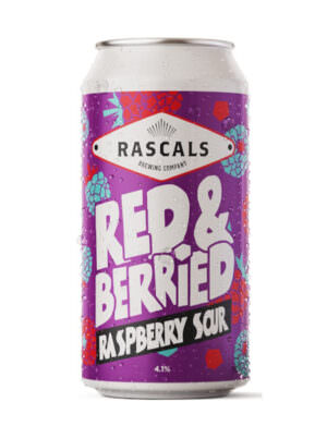 Rascals Red & Berries Raspberry Sour 44cl Can