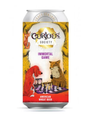 Curious Society Immortal Game AWB 44cl Can