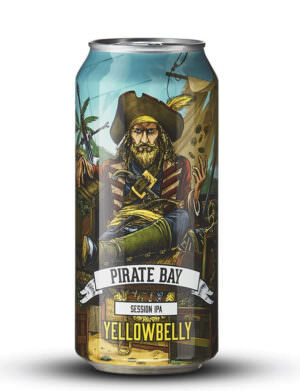 Yellowbelly Pirate Bay Session IPA 44cl Can