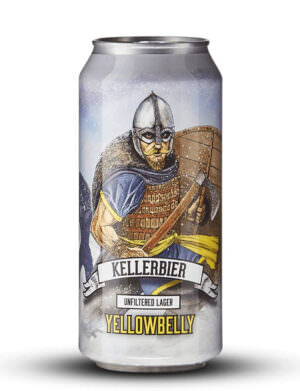Yellowbelly Kellerbier Unfiltered Lager 44cl Can