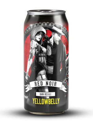 Yellowbelly Red Noir Dark Red Ale 44cl Can