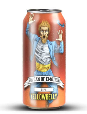 YellowBelly Tin Can of Emotion DIPA 44cl Can