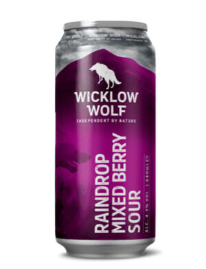 Wicklow Wolf Raindrop Berry Sour 44cl Can