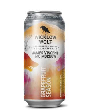 Wicklow Wolf X James McMorrow Grapefruit Season IPA 44cl Ca